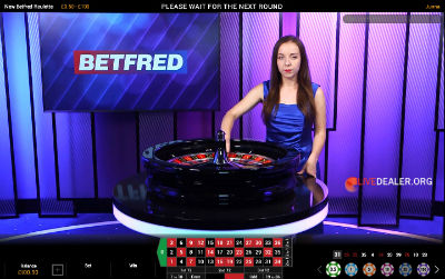 betfred live roulette