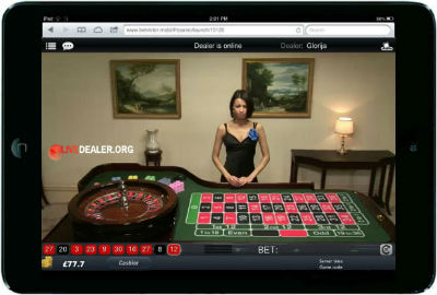 bet365 iPad live games