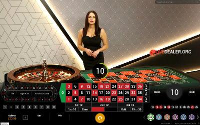 EuroGrand live roulette