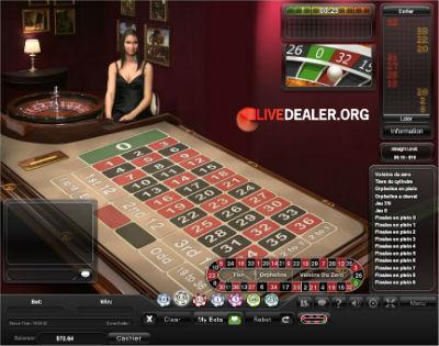 Titan live roulette