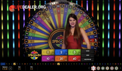 Betfair live Spin-a-Win