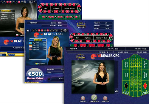 Europa live dealer live casino review - Table tv a roulettes ...