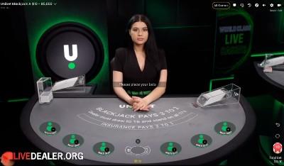 Pragmatic/Unibet exclusive blackjack