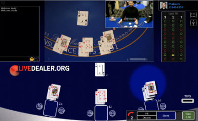 Dublinbet live blackjack