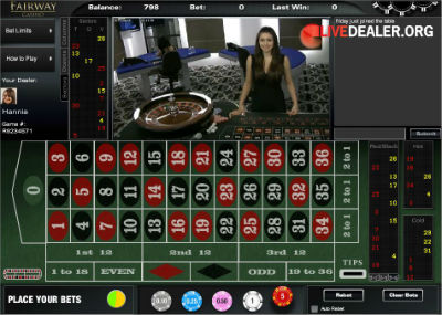 Celtic Casino live roulette