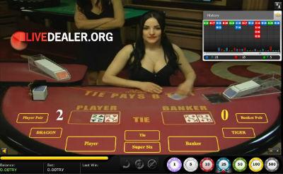 Vegas baccarat