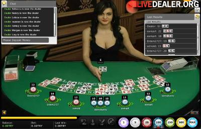 Vegas live blackjack