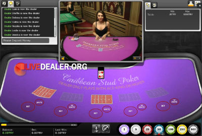 Vegas Caribbean Poker
