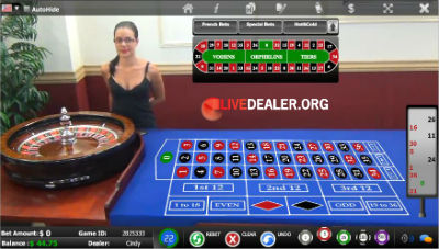 BetOnline live roulette (GGL)