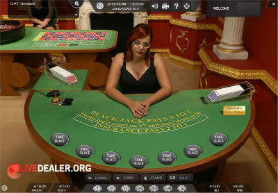 710 live blackjack
