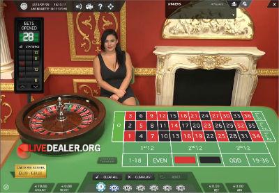 710 live roulette