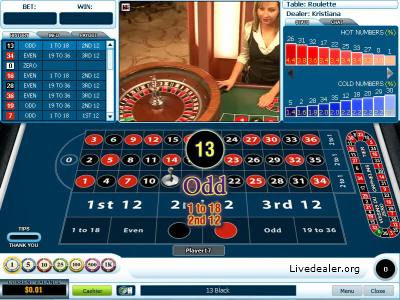 American roulette orphelins