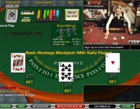 Common blackjack payouts